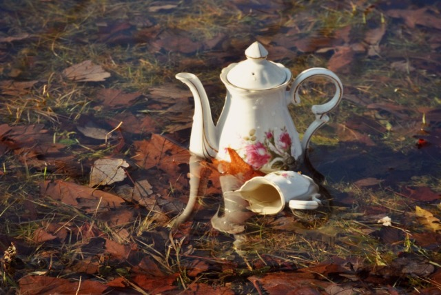 Tea in the water